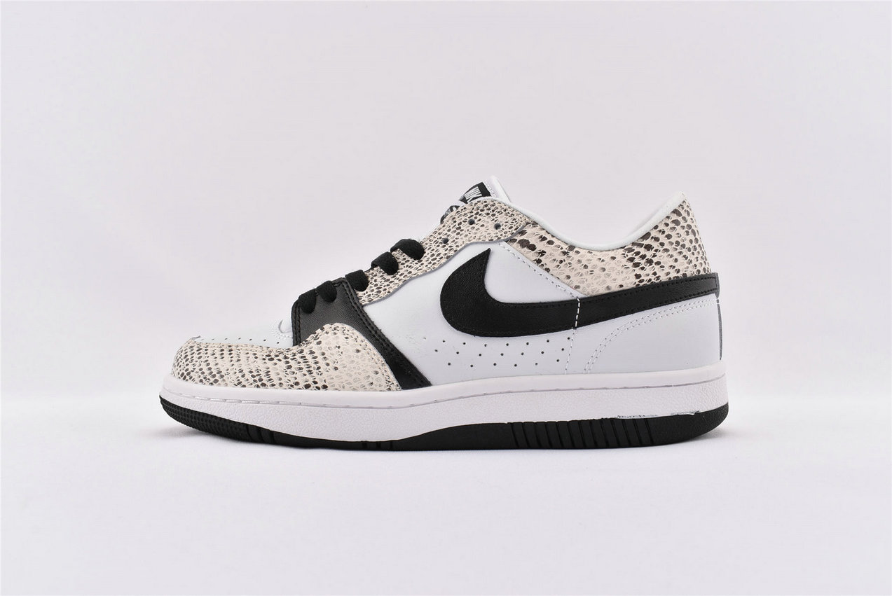 Where To Buy Wholesale Cheap Nike Court Force Low White Black-Cocoa 314191 101 - www.wholesaleflyknit.com