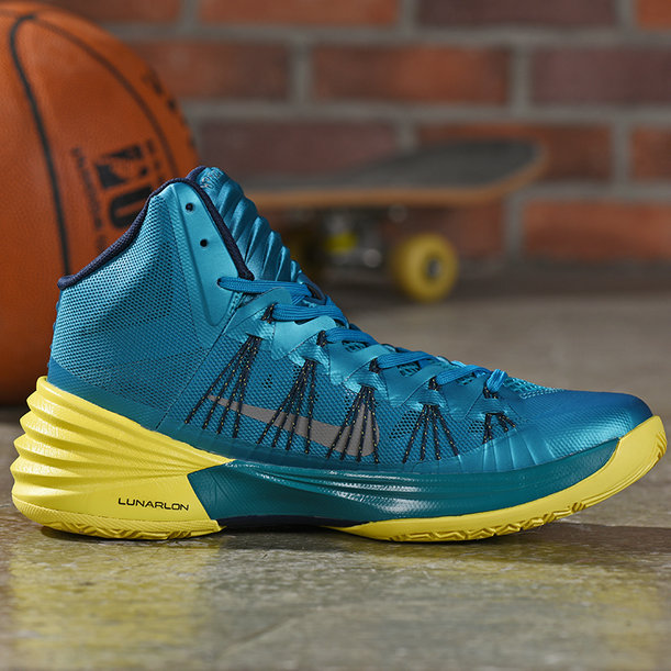 Where To Buy Cheap Wholesale Nike Hyperdunk Blue Yellow - www.wholesaleflyknit.com