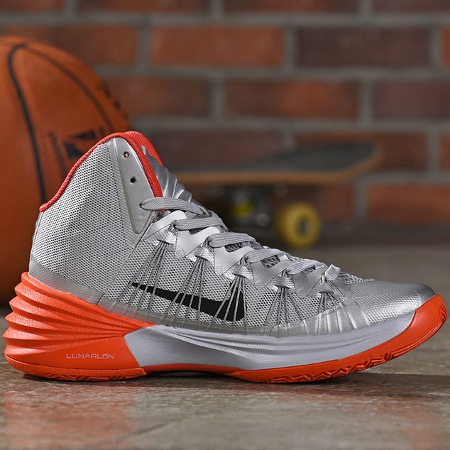 Where To Buy Cheap Wholesale Nike Hyperdunk Silver Total Orange - www.wholesaleflyknit.com