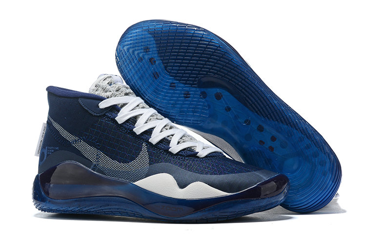 Where To Buy Cheap Wholesale Nike KD 12 XII Racer Blue White - www.wholesaleflyknit.com