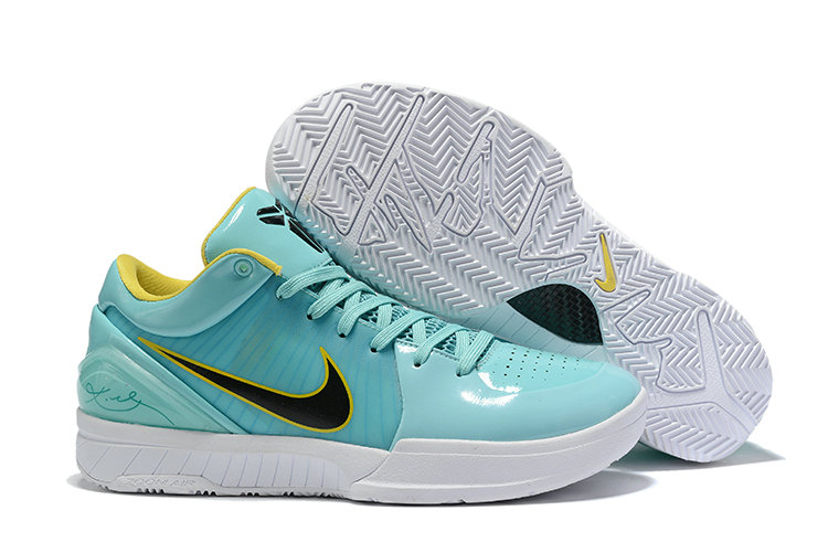 Where To Buy Cheap Wholesale Nike Kobe 4 Protro ZK4 Hyper Teal Mango-White CQ3869-300 - www.wholesaleflyknit.com