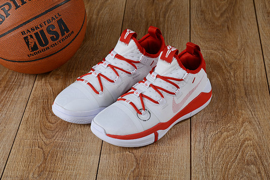 Where To Buy Cheap Wholesale Nike Kobe A.D White Gym Red - www.wholesaleflyknit.com
