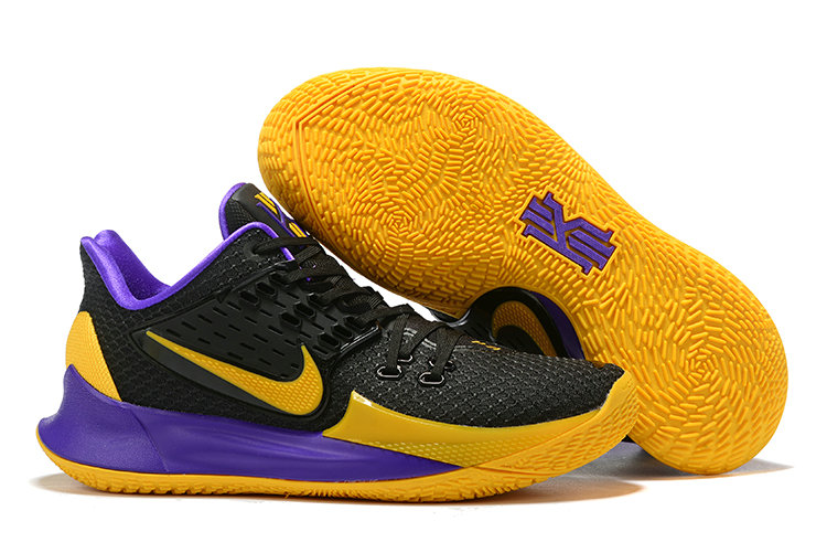 Where To Buy Cheap Wholesale Nike Kyrie 2 Low Black Purple Yellow - www.wholesaleflyknit.com