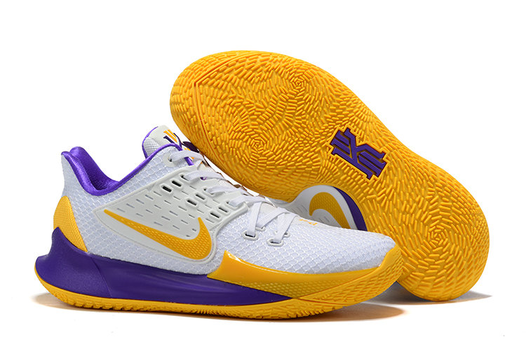 Where To Buy Cheap Wholesale Nike Kyrie 2 Low Yellow White Purple - www.wholesaleflyknit.com