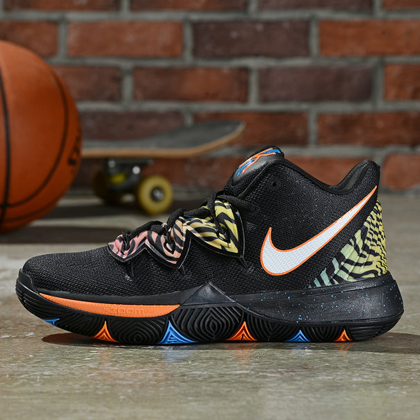 Where To Buy Cheap Wholesale Nike Kyrie 5 Irving Black Orange Blue - www.wholesaleflyknit.com