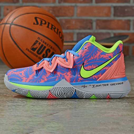 Where To Buy Cheap Wholesale Nike Kyrie 5 Irving Fluorescent Green Royal Blue Pink - www.wholesaleflyknit.com