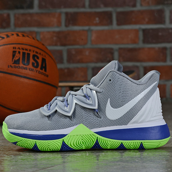 Where To Buy Cheap Wholesale Nike Kyrie 5 Wolf Grey White-Lime Blast AQ2456-099 - www.wholesaleflyknit.com