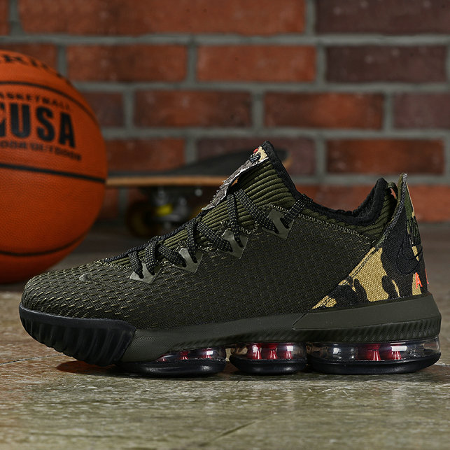 Where To Buy Cheap Wholesale Nike LeBron 16 Low Camo - www.wholesaleflyknit.com