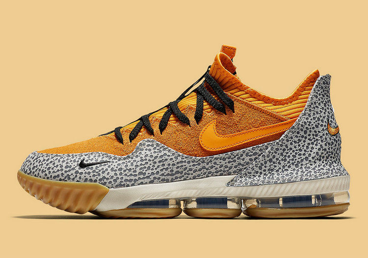 Where To Buy Wholesale Cheap Nike LeBron 16 Low Safari Kumquat-Kumquat-Black CI3358-800 - www.wholesaleflyknit.com