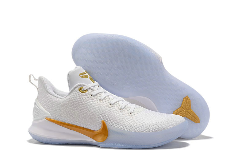 Where To Buy Cheap Wholesale Nike Mamba Focus Golden White - www.wholesaleflyknit.com