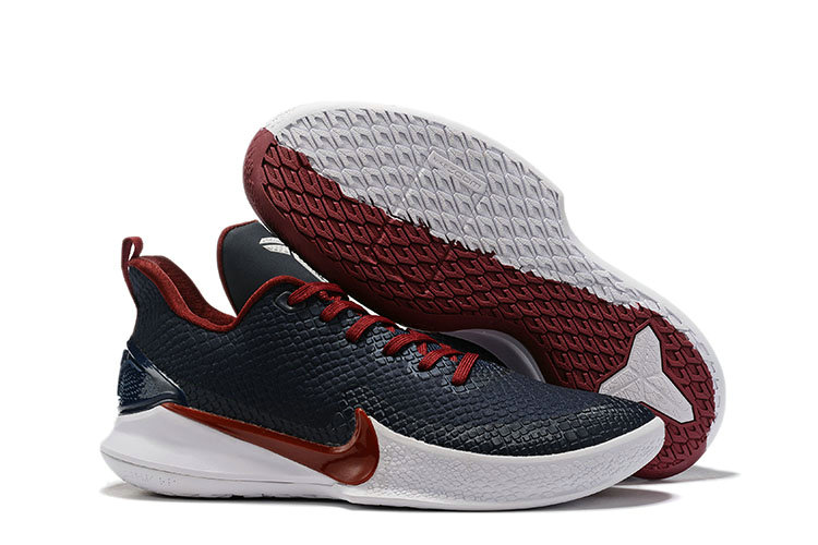 Where To Buy Cheap Wholesale Nike Mamba Focus Navy Blue Wine Red White - www.wholesaleflyknit.com