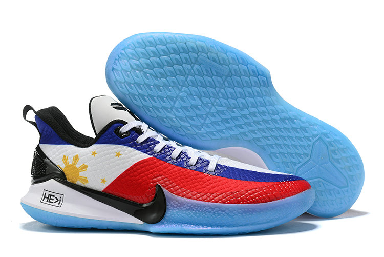Where To Buy Cheap Wholesale Nike Mamba Focus Red Blue White Gold Black - www.wholesaleflyknit.com