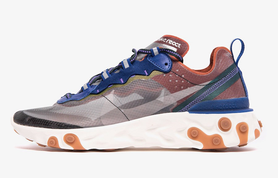 Where To Buy Cheap Wholesale Nike React Element 87 Dusty Peach Atmosphere Grey AQ1090-200 - www.wholesaleflyknit.com