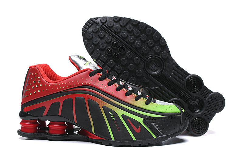 Where To Buy Wholesale Cheap Nike Shox R4 Green Red Black - www.wholesaleflyknit.com