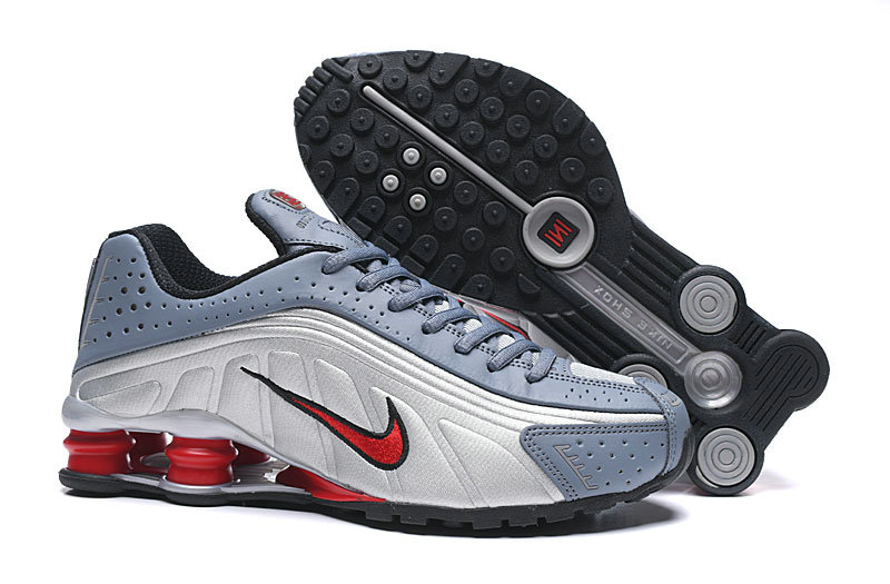 Where To Buy Wholesale Cheap Nike Shox R4 Silver White Red Grey - www.wholesaleflyknit.com