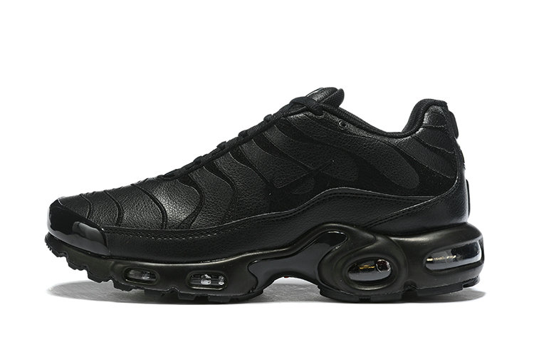 Where To Buy Cheap Wholesale Nike TN Air Max Plus Triple Black AJ2029-001 - www.wholesaleflyknit.com