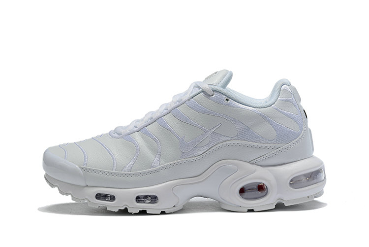 Where To Buy Cheap Wholesale Nike TN Air Max Plus Triple White AJ2029-100 - www.wholesaleflyknit.com