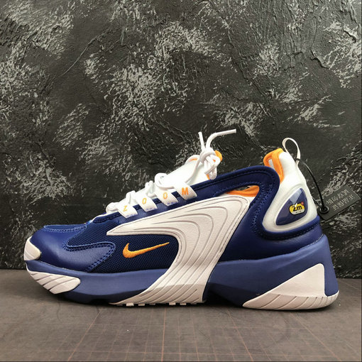 Where To Buy Cheap Wholesale Nike Zoom 2K in Royal Blue and Orange Peel AO0269-400 - www.wholesaleflyknit.com