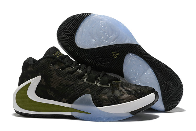Where To Buy Cheap Wholesale Nike Zoom Freak 1 Army Green Black Gold White - www.wholesaleflyknit.com