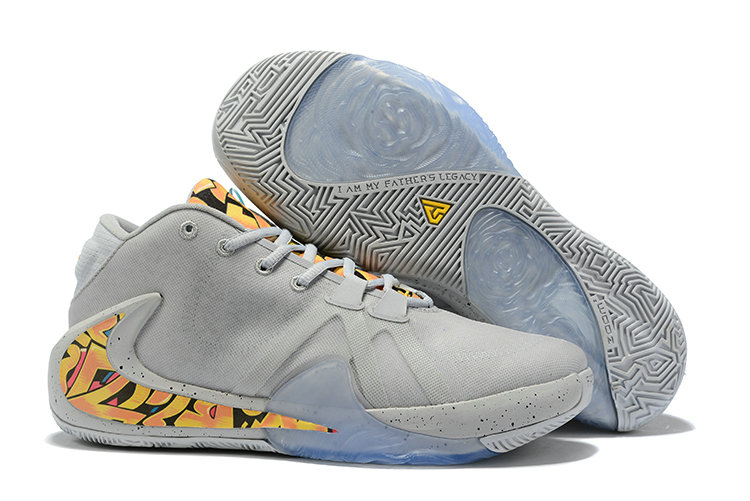 Where To Buy Cheap Wholesale Nike Zoom Freak 1 Cool Grey Colorful - www.wholesaleflyknit.com