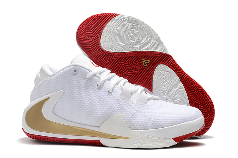 Where To Buy Cheap Wholesale Nike Zoom Freak 1 Gold White Gym Red - www.wholesaleflyknit.com