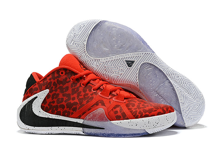 Where To Buy Cheap Wholesale Nike Zoom Freak 1 Rouge Red Black White - www.wholesaleflyknit.com