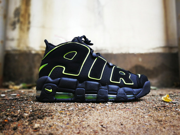 Where To Buy Cheap Wholesale Nikes Air More Uptempo Navy Blue Green - www.wholesaleflyknit.com