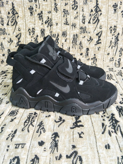 Where To Buy Cheap Wholesale Nikes Air More Uptempo Total Black - www.wholesaleflyknit.com