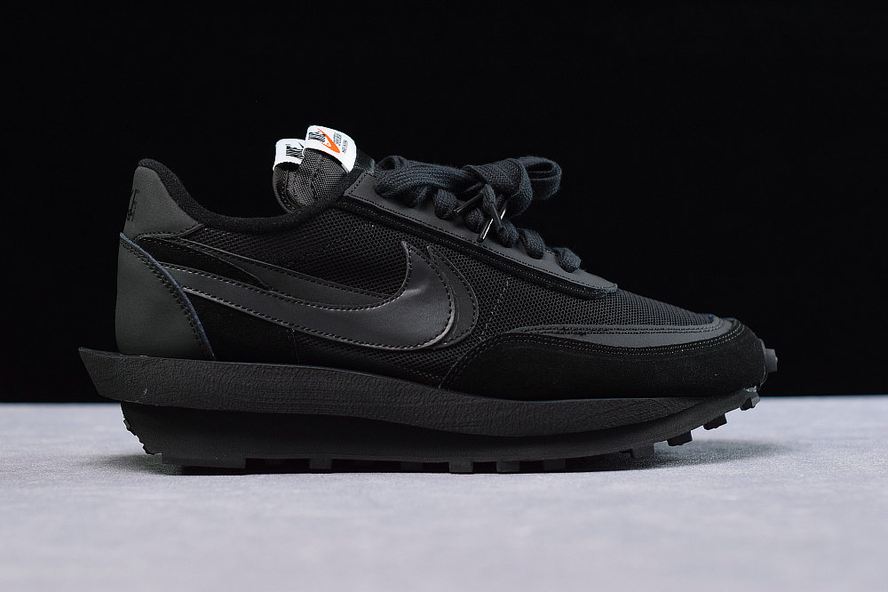 Where To Buy Cheap Wholesale Sacai x Nikes LDWaffle Black BV0073-002 - www.wholesaleflyknit.com