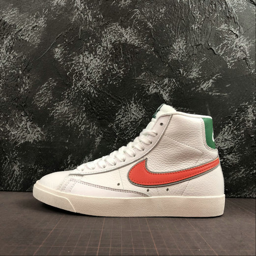 Where To Buy Cheap Wholesale Stranger Things x Nike Blazer Mid Hawkins High White Green Two-Tone Blanc Vert CJ6106-100 - www.wholesaleflyknit.com