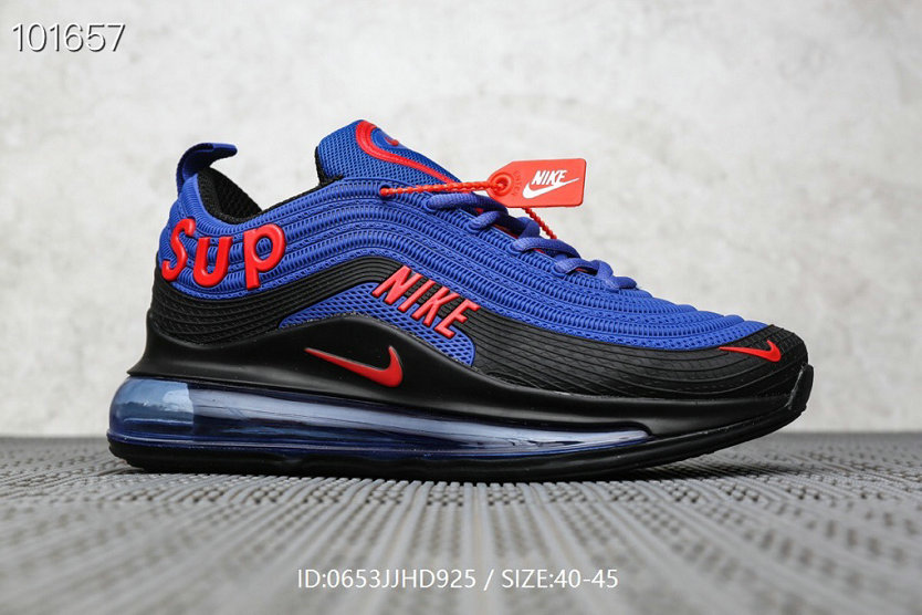 Where To Buy Wholesale Cheap Supreme x Nike Air Max 97 Royal Blue Red Black - www.wholesaleflyknit.com