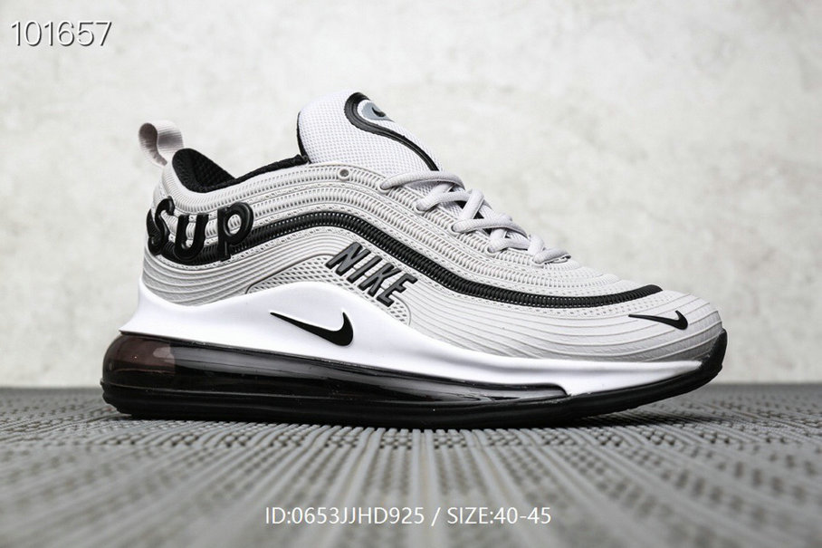 Where To Buy Wholesale Cheap Supreme x Nike Air Max 97 Wolf Grey Black - www.wholesaleflyknit.com
