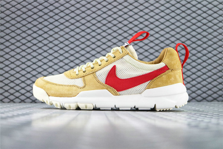 Where To Buy Wholesale Cheap Tom Sachs x Nike Mars Yard 2.0 Toddler Natural Maple-Sport Red AA2261 100 - www.wholesaleflyknit.com