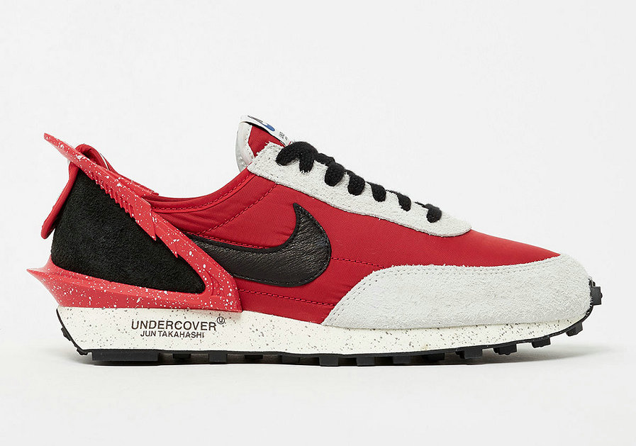 Where To Buy Cheap Wholesale UNDERCOVER x Nike Daybreak University Red Black Spruce Aura CJ3295-600 - www.wholesaleflyknit.com