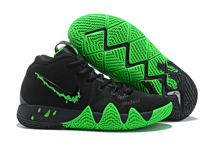 Cheap Wholesale Where To Buy Nike Kyrie 4 Halloween 943806-012 Black Rage Green - www.wholesaleflyknit.com