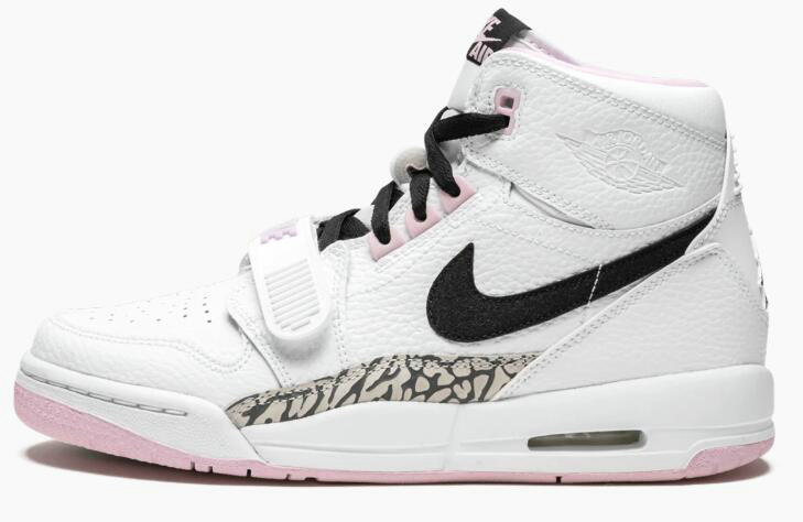 Where To Buy Womens 2019 Cheap Wholesale Nike Air Jordan Legacy 312 GS White Black-Pink Foam AT4040-106 - www.wholesaleflyknit.com