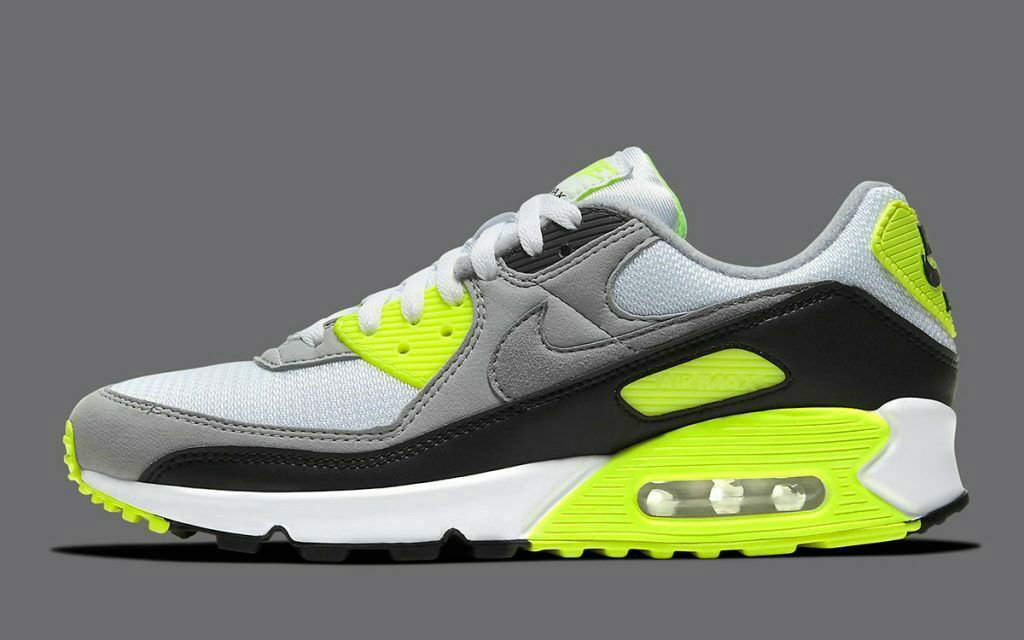 Where To Buy Womens 2020 Cheap Wholesale Nike Air Max 90 White Light Smoke Grey-Black-Particle Grey CW5458-100 - www.wholesaleflyknit.com