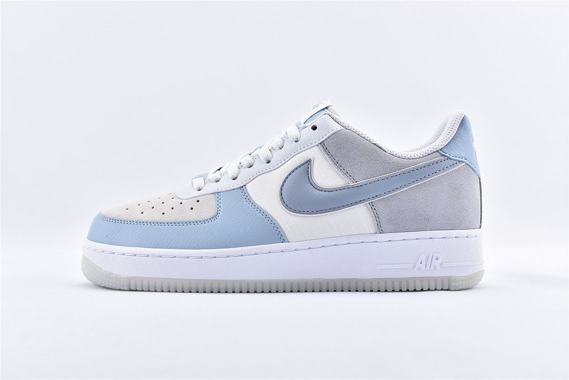 Where To Buy Wholesale Cheap Womens Nike Air Force 1 07 LV8 Armory Blue AO2425-400 - www.wholesaleflyknit.com