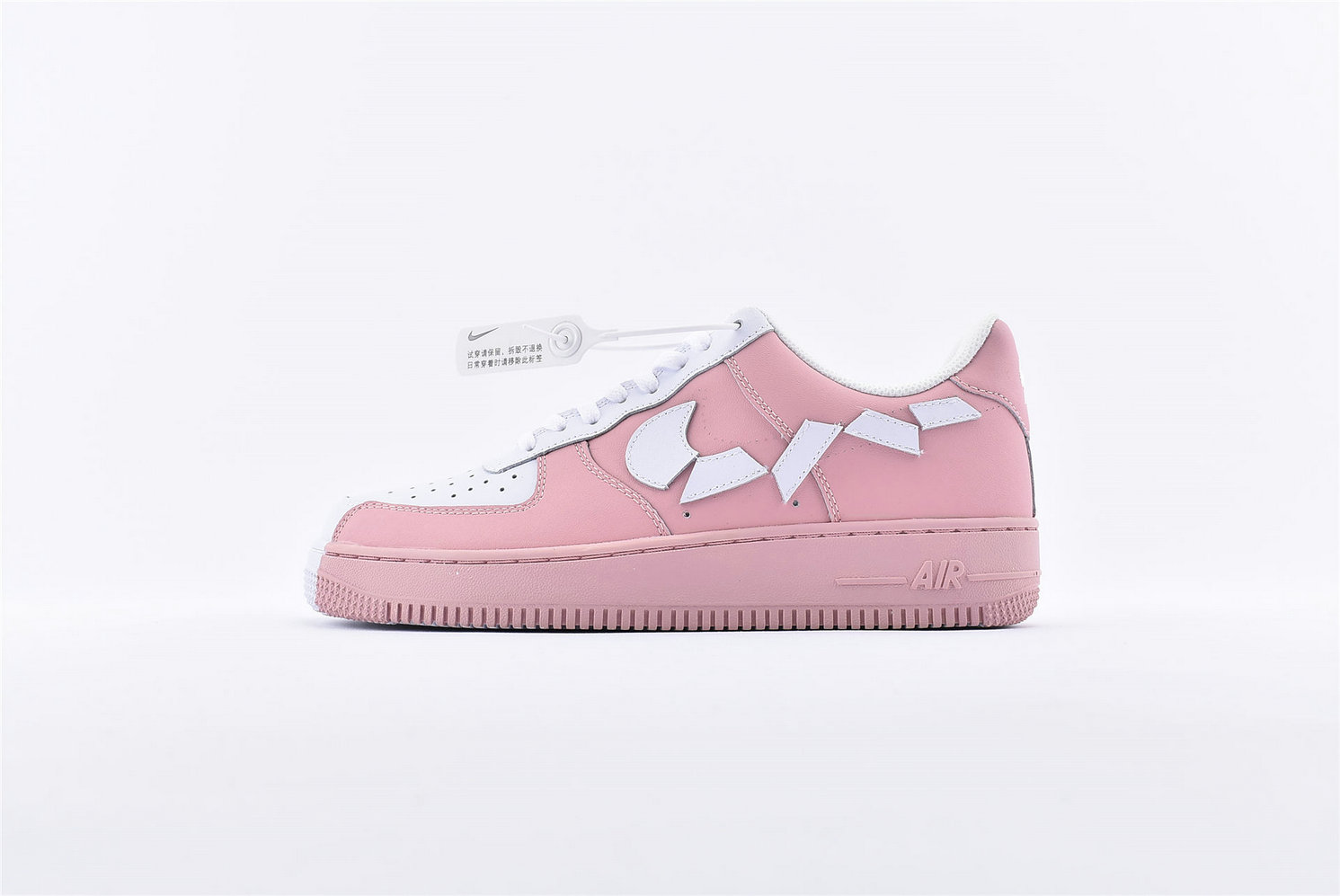 Where To Buy Wholesale Cheap Womens Nike Air Force 1 07 Pink White 315124-600 - www.wholesaleflyknit.com