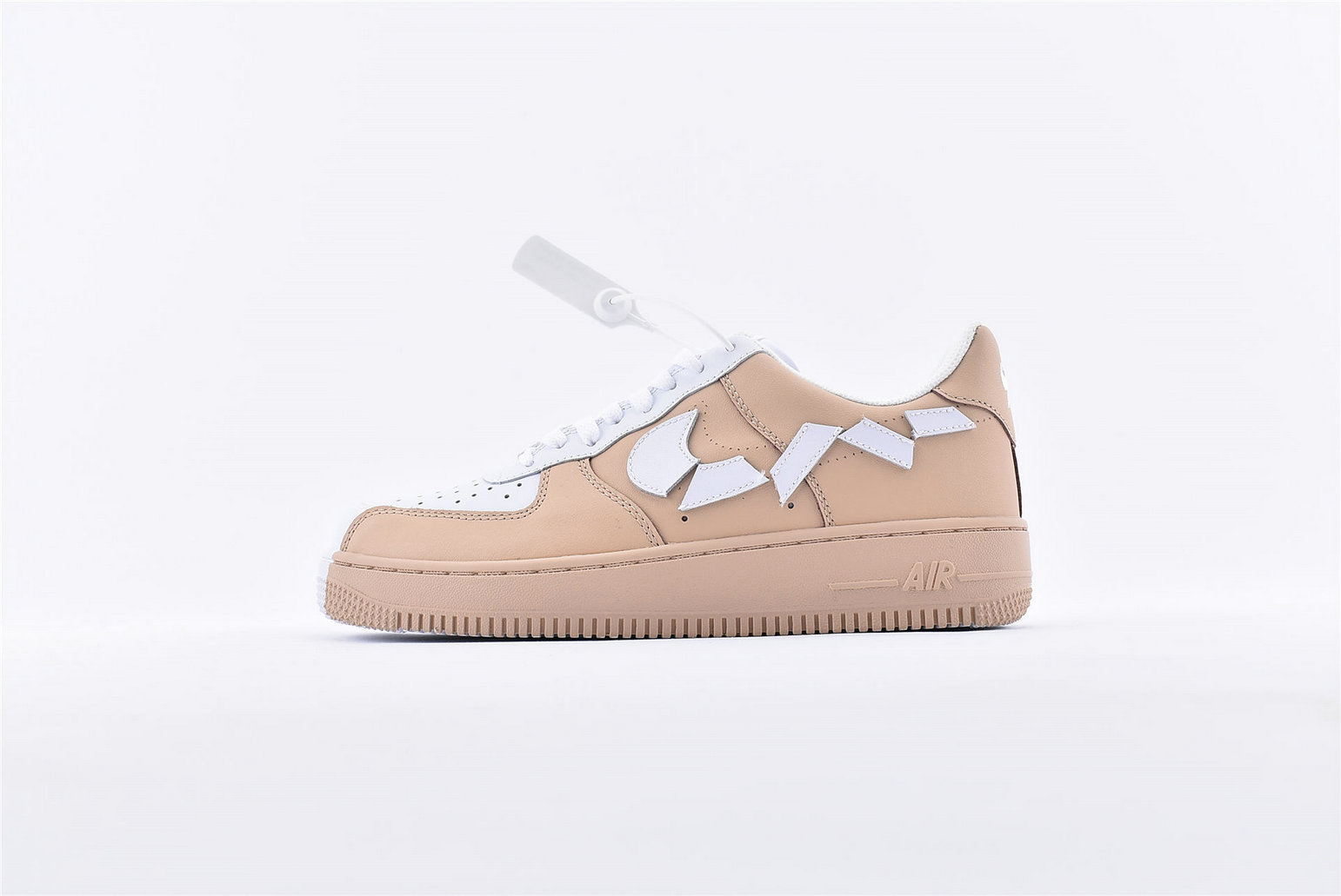 Where To Buy Wholesale Cheap Womens Nike Air Force 1 07 Wheat White 315124-200 - www.wholesaleflyknit.com