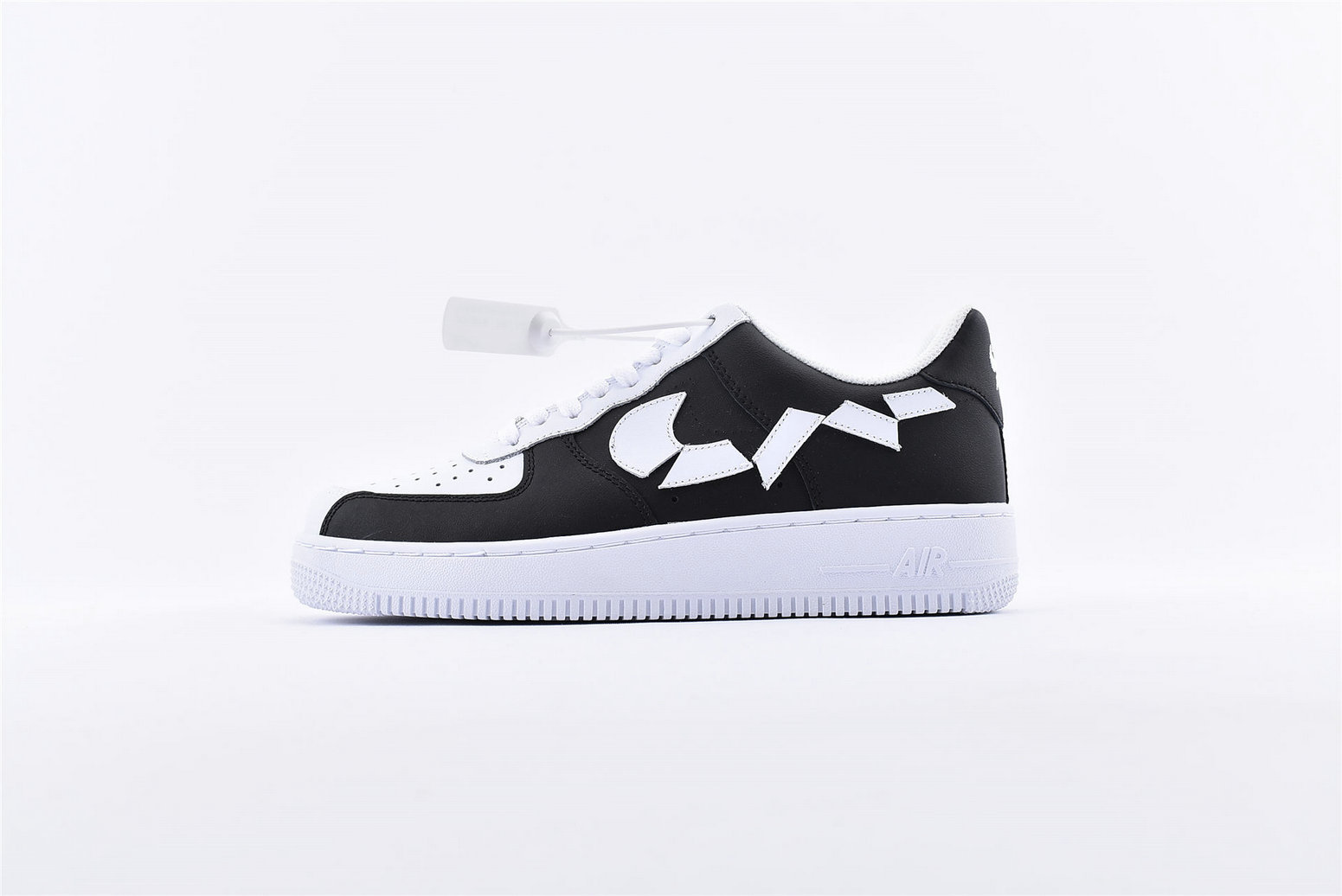 Where To Buy Wholesale Cheap Womens Nike Air Force 1 07 White Black 315124-011 - www.wholesaleflyknit.com