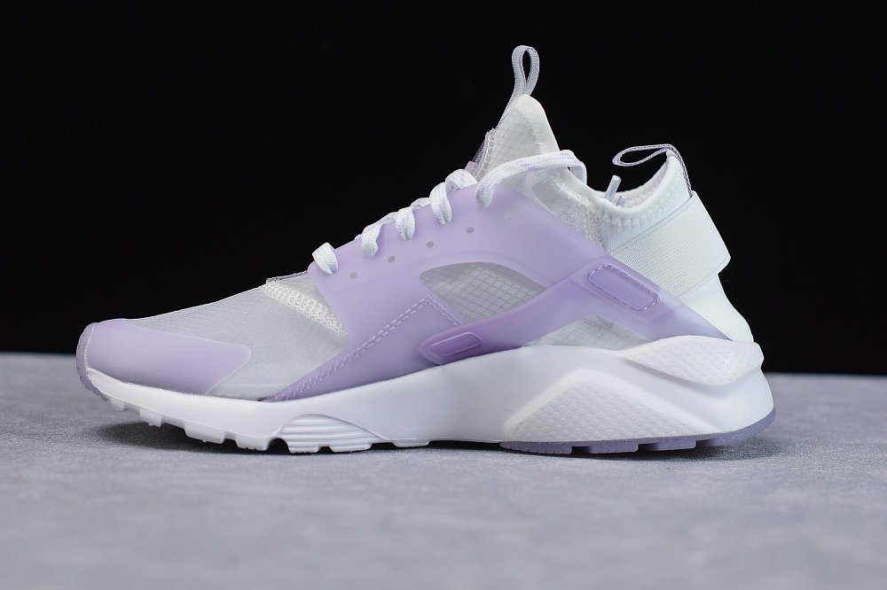 Where To Buy Cheap Wholesale Womens Nike Air Huarache Run Premium Transparent Purple Transparence Violet 875868-005 - www.wholesaleflyknit.com