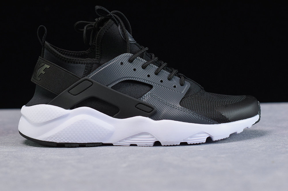 Where To Buy Cheap Wholesale Womens Nike Air Huarache Run Ultra Black Anthracite White Noir Blanc Anthracit BV0021-001 - www.wholesaleflyknit.com