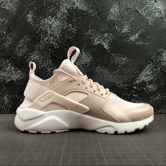 Where To Buy Cheap Wholesale Womens Nike Air Huarache Run Ultra White Pink Blanc Rose 847568-601 - www.wholesaleflyknit.com