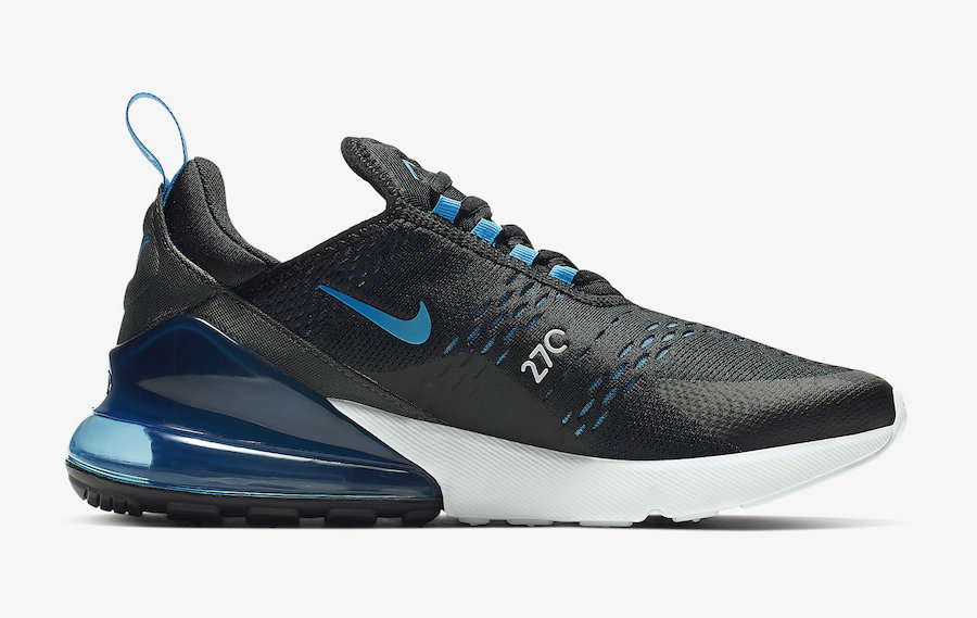 Where To Buy Cheap Wholesale Womens Nike Air Max 270 Black Photo Blue-Blue Fury-Pure Platinum-Anthracite-White AH8050-019 - www.wholesaleflyknit.com