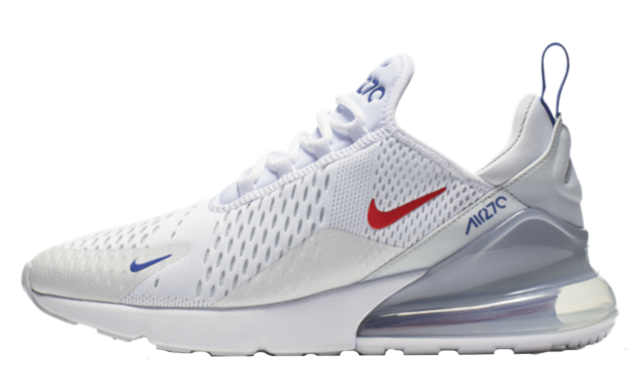 Where To Buy Cheap Wholesale Womens Nike Air Max 270 White Habanero Red Blanc Rouge CD7338-100 - www.wholesaleflyknit.com