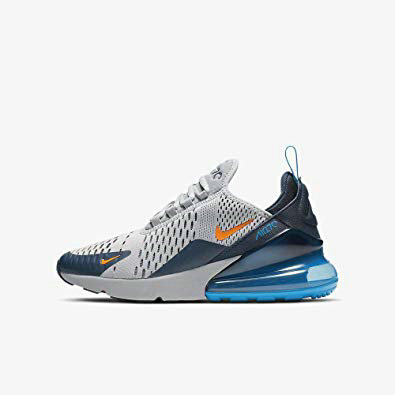 Where To Buy Cheap Wholesale Womens Nike Air Max 270 Wolf Grey Total Orange Gris Loup Orange Total 943345-015 - www.wholesaleflyknit.com