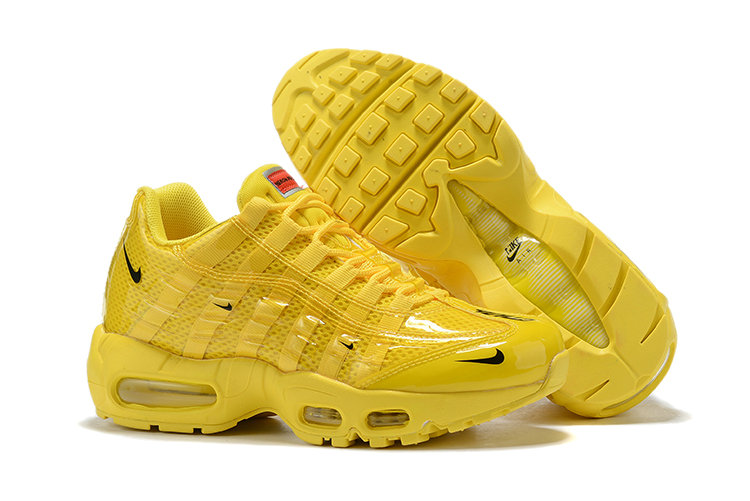 Where To Buy Cheap Wholesale Womens Nike Air Max 95 By Christian All Yellow - www.wholesaleflyknit.com