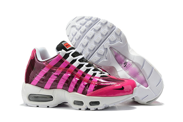 Where To Buy Cheap Wholesale Womens Nike Air Max 95 By Christian Pink Red Black White - www.wholesaleflyknit.com