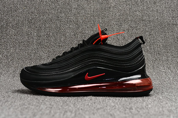 Where To Buy Wholesale Cheap Womens Nike Air Max 97 720 Black Fire Red - www.wholesaleflyknit.com